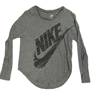 Nike Loose Fit Shirt Medium Gray